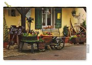 Gast Haus Display In Rothenburg Germany Carry-all Pouch by Greg Matchick