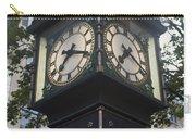 Gastown Steam Clock Carry-all Pouch