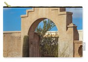 Gate At San Xavier Del Bac Carry-all Pouch