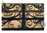 Gate In Front Of Mansion Carry-all Pouch