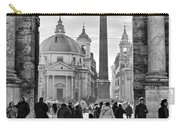Gate To Piazza Del Popolo In Rome Carry-all Pouch