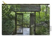 Gates Of Tranquility Carry-all Pouch by Sandra Bronstein