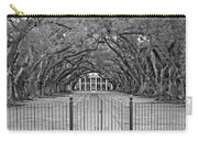 Gateway To The Old South Monochrome Carry-all Pouch by Steve Harrington