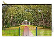 Gateway To The Old South Paint Carry-all Pouch by Steve Harrington