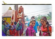 Gathering At Hindu Festival Of Ram Nawami In Kathmandu-nepal Carry-all Pouch