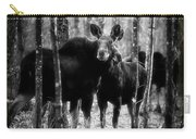 Gathering Of Moose Carry-all Pouch by Bob Orsillo