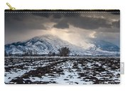 Gathering Winter Storm - Utah Valley Carry-all Pouch