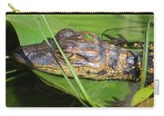 Gator Baby's Head Carry-all Pouch