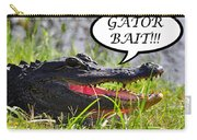 Gator Bait Greeting Card Carry-all Pouch