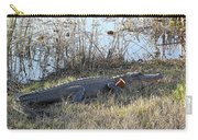 Gator Football Carry-all Pouch by Al Powell Photography USA