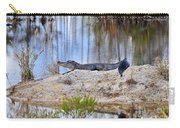 Gator On The Mound Carry-all Pouch