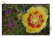 Gattinger's Prairie Clover And Prickly Pear Flower Carry-all Pouch