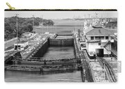 Gatun Locks Panama Monochrome Carry-all Pouch