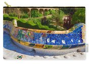 Gaudi's Park Guell - Impressions Of Barcelona Carry-all Pouch