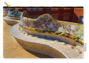Gaudi's Park Guell Sinuous Curves - Impressions Of Barcelona Carry-all Pouch