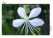 Gaura Lindheimeri So White Carry-all Pouch
