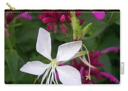 Gaura Lindheimeri Whirling Butterflies With Agastache Ava Carry-all Pouch