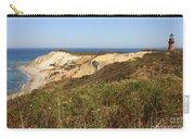 Gay Head Lighthouse With Aquinnah Beach Cliffs Carry-all Pouch