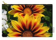 Gazania Named Kiss Yellow Flame Carry-all Pouch