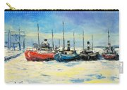 Gdynia Harbour - Winter Carry-all Pouch