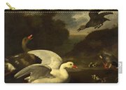 Geese And Ducks Carry-all Pouch