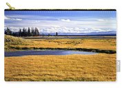 Geese At Yellowstone Lake Carry-all Pouch