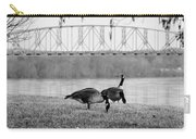 Geese By The Ohio Carry-all Pouch