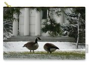 Geese In Snow Carry-all Pouch