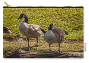 Geese On A Log Carry-all Pouch