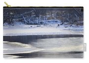 Geese On Ice Carry-all Pouch