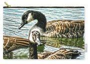 Geese On The Pond II Carry-all Pouch