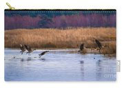 Geese Up And Away Carry-all Pouch
