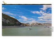 Gellert Hill And Danuber River In Budapest Carry-all Pouch by Michal Bednarek