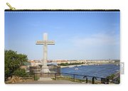 Gellert Hill Cross In Budapest Carry-all Pouch