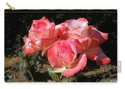 Gemini Tea Rose Carry-all Pouch