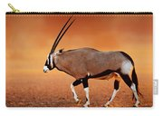 Gemsbok On Desert Plains At Sunset Carry-all Pouch