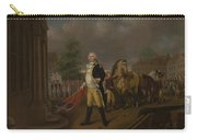 General Humphreys Delivering Carry-all Pouch by Nicolas Louis Albert Delerive