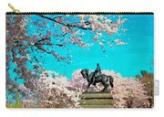 General In The Blossoms Carry-all Pouch