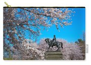 General In The Cherry Blossoms Carry-all Pouch