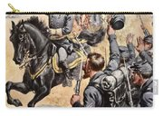 General Mcclellan At The Battle Carry-all Pouch by Henry Alexander Ogden