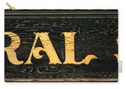 General Store Sign Carry-all Pouch