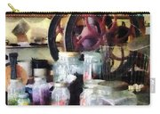 General Store With Candy Jars Carry-all Pouch by Susan Savad