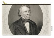 General Zachary Taylor, From The History Of The United States, Vol. II, By Charles Mackay, Engraved Carry-all Pouch