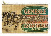 Genesee 12 Horse Ale Carry-all Pouch