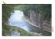 Genesee River In Grand Canyon Of East Carry-all Pouch