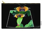 Gentle Butterfly Courtship 01 Out Of Bounds Carry-all Pouch