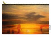 Gentle Sunset Vision Carry-all Pouch