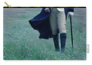 Gentleman Walking In The Country Carry-all Pouch by Jill Battaglia