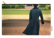 Gentleman Walking Towards A House Carry-all Pouch