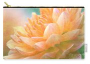 Gently Textured Dahlia  Carry-all Pouch